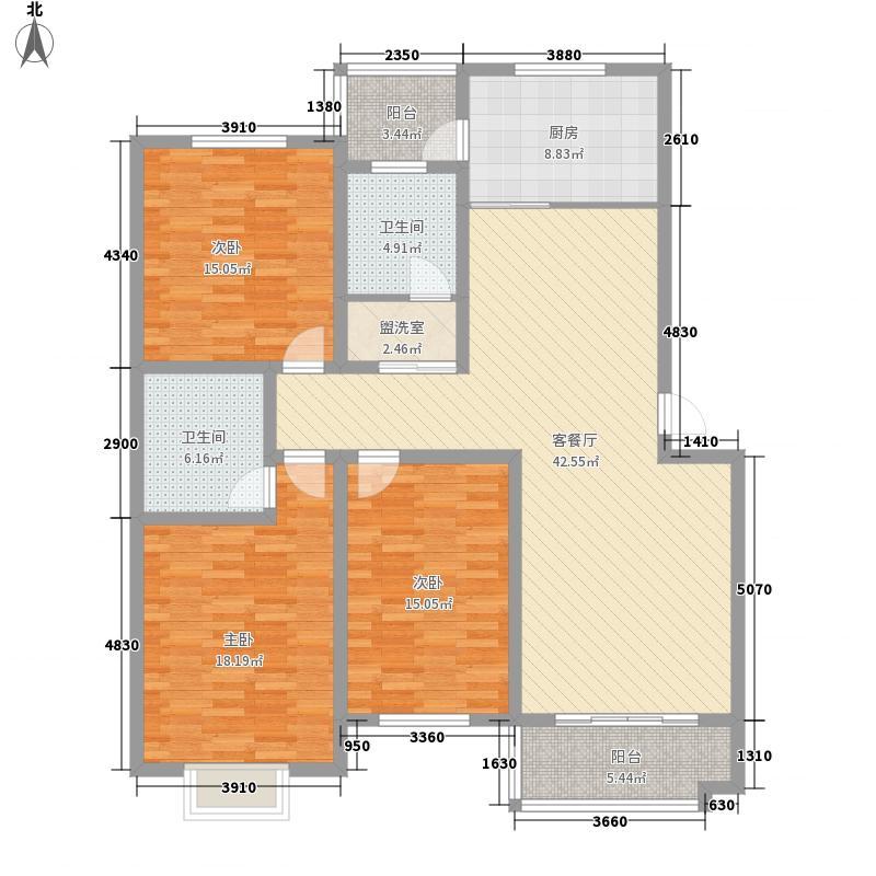 长安地王广场176.00㎡长安地王广场3室户型3室
