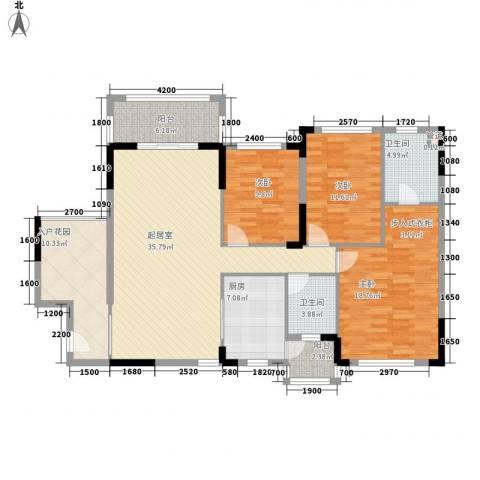 格林童话世界别墅3室0厅2卫1厨124.00㎡户型图