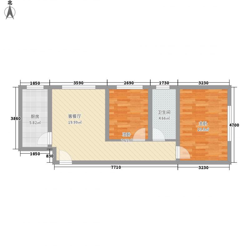 景苑公寓E户型