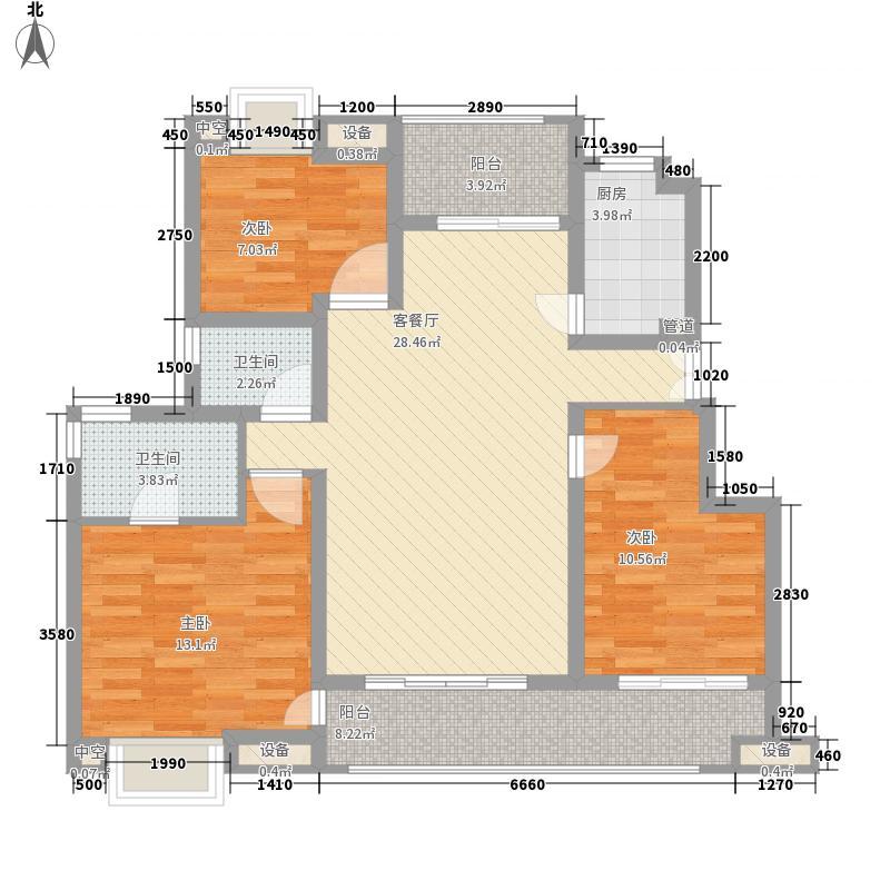 红太阳国际财智广场一期标准层C2-2户型