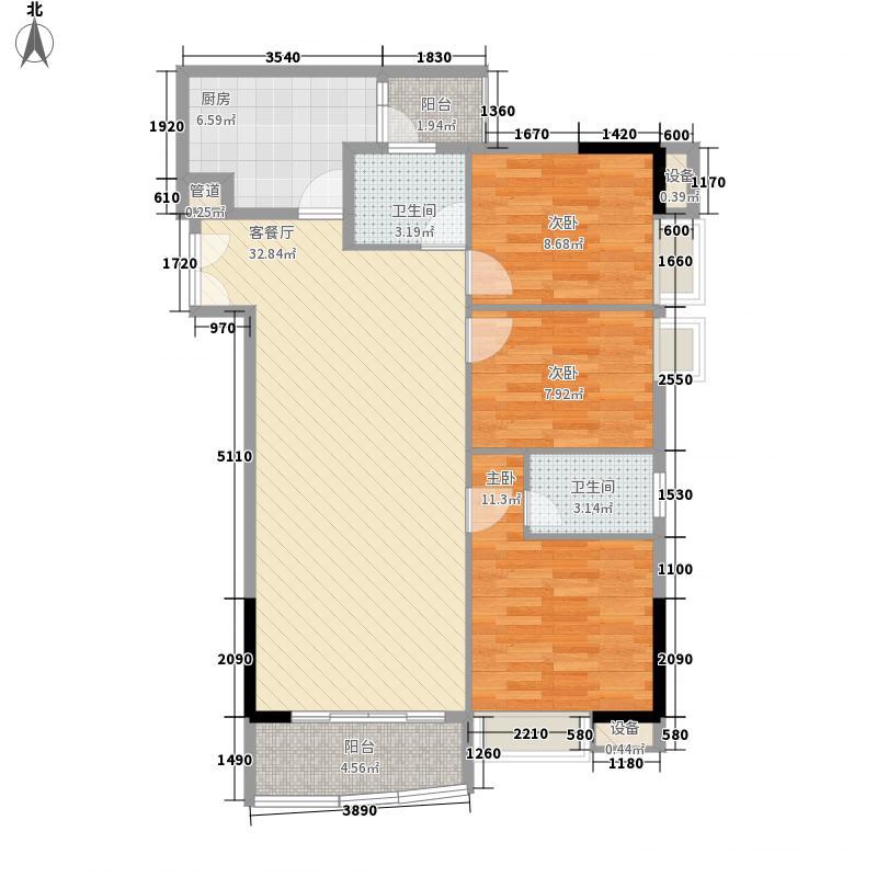中惠雅苑112.07㎡中惠雅苑户型图01户型3室2厅户型3室2厅