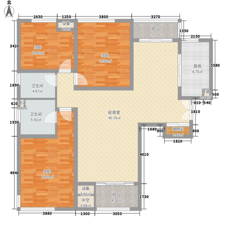 新加坡・尚锦城136.00㎡新加坡尚锦城户型图B5户型3室2厅2卫户型3室2厅2卫
