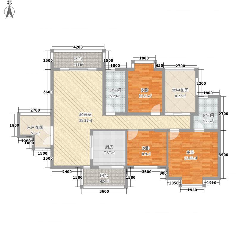 昆仑奥韵128.39㎡昆仑奥韵户型图1/2/3/4栋B1户型3室2厅2卫1厨户型3室2厅2卫1厨