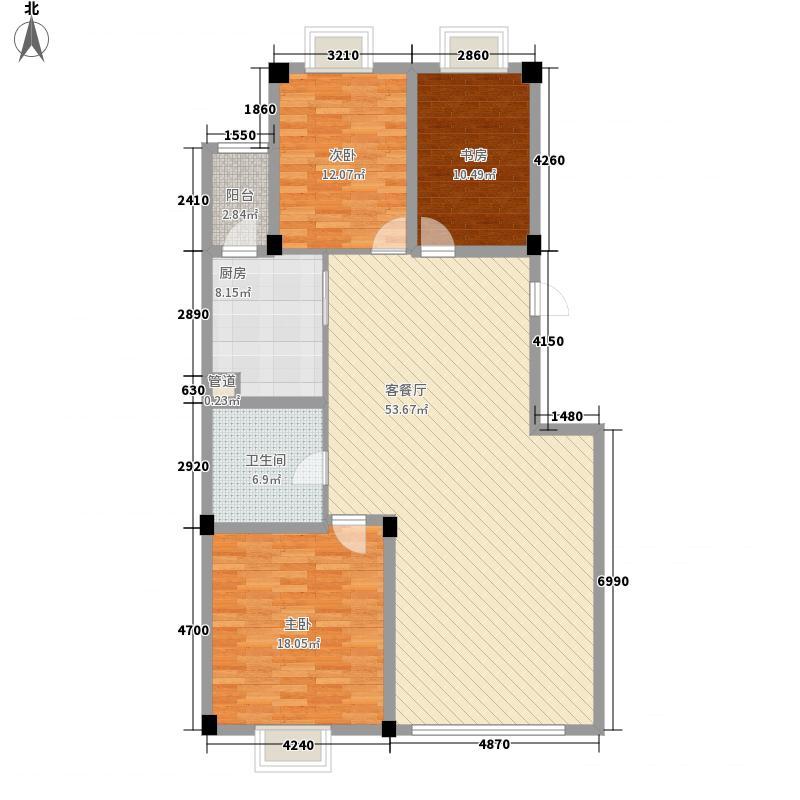 康泰苑东区(康泰苑)157.00㎡康泰苑东区Q户型3室2厅2卫1厨