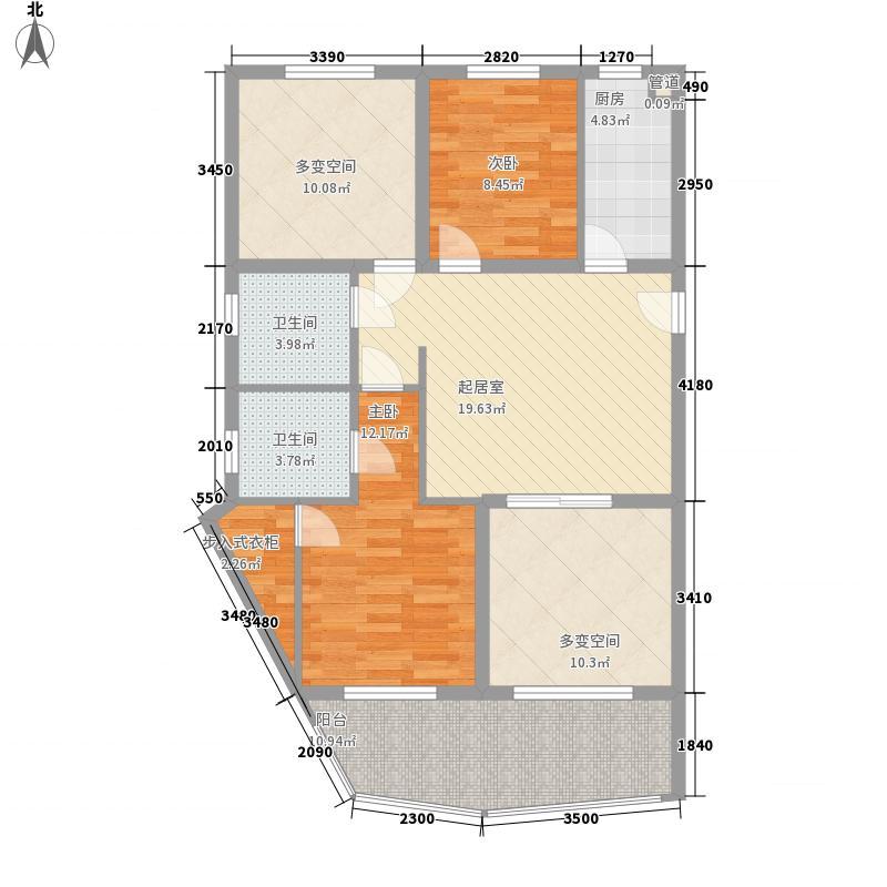 银仁花园124.00㎡银仁花园户型图3室户型图3室2厅1卫1厨户型3室2厅1卫1厨