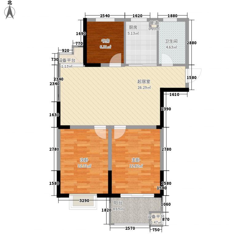 青年华都西苑5、6号楼X64户型