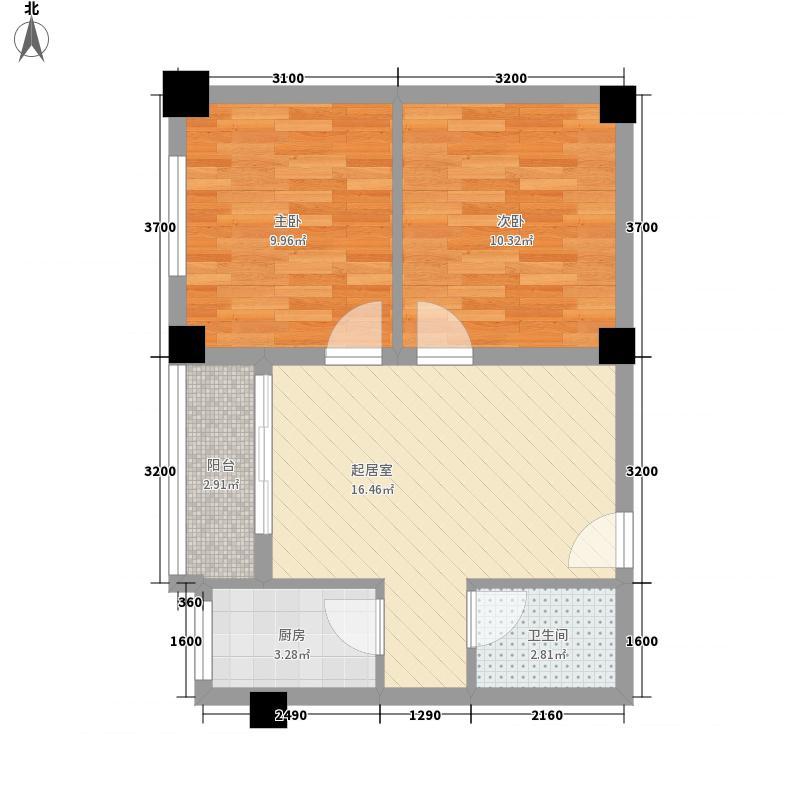康武苑600x60户型2室