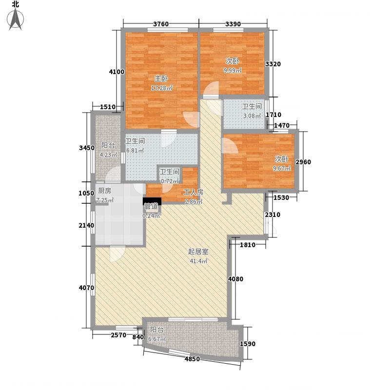 香榭里花园二期香榭里花园二期3室户型3室