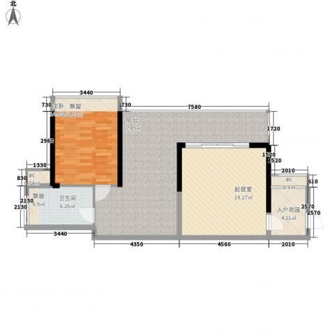 新世纪亦居1室0厅1卫0厨510.00㎡户型图