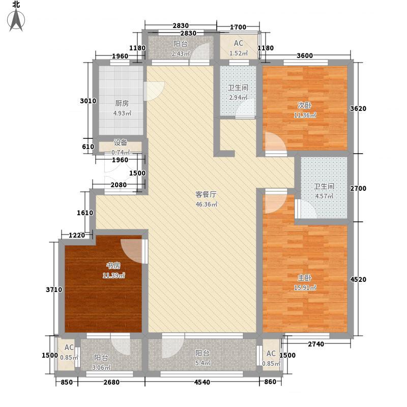 四季花园5#楼户型