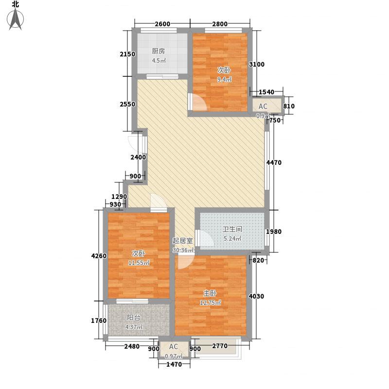 东方名都105.10㎡东方名都5c43室2厅1卫105.10㎡户型3室2厅1卫