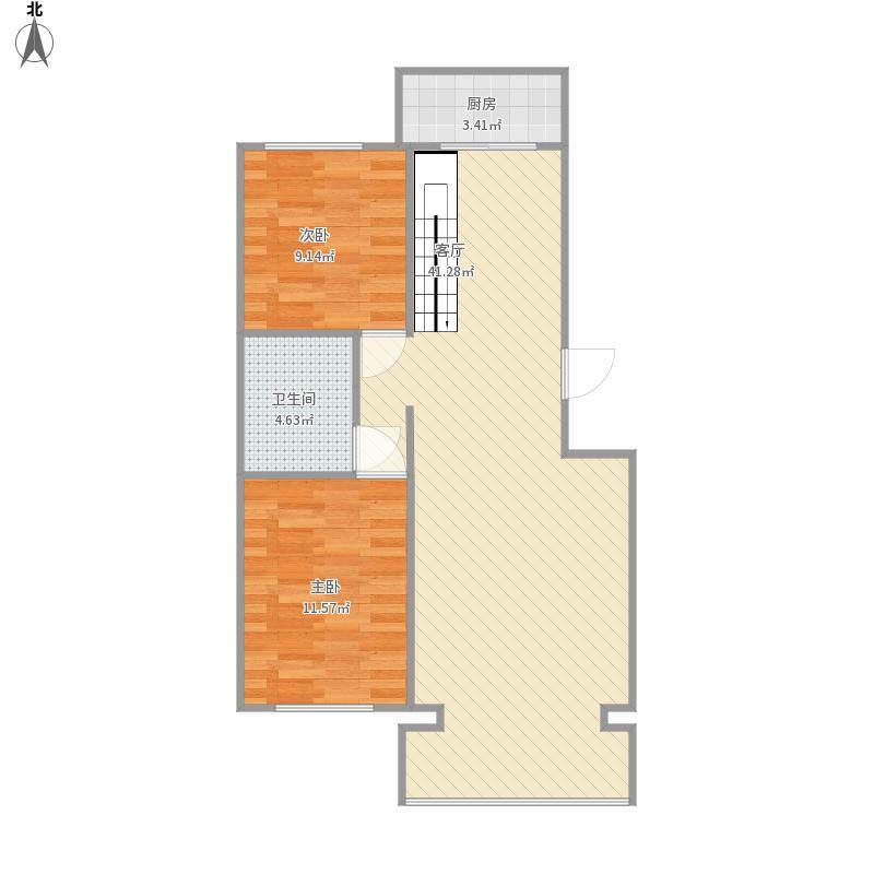2015-06-03自量尺寸图(一楼平面)