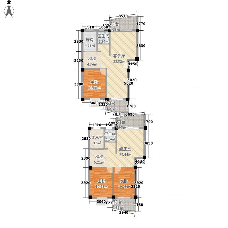 水岸华庭170.20㎡水岸华庭户型图4室3厅2卫户型10室