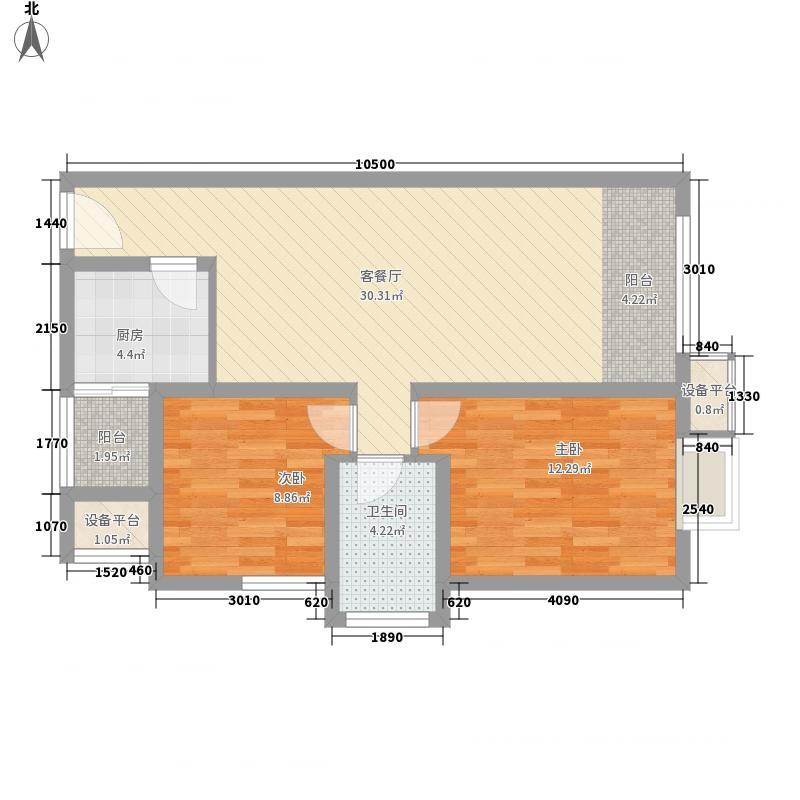 北城新天地 0室 户型图