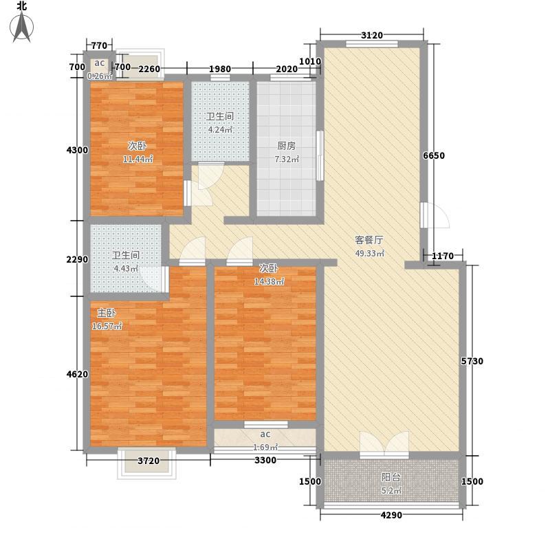 腾龙雅源腾龙雅源户型图一期2#楼户型A户型10室