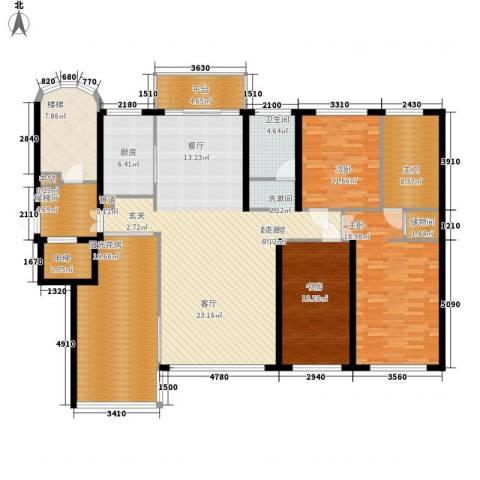 风筝恋雅舍3室0厅1卫1厨216.00㎡户型图