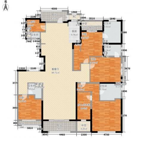 壹号公馆4室1厅5卫0厨330.00㎡户型图