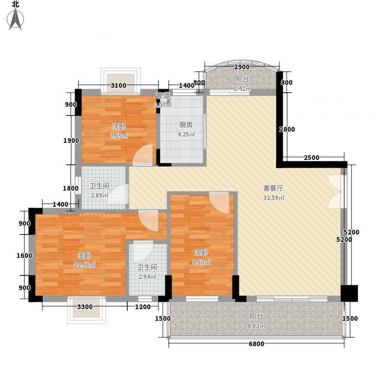 东林苑173.00㎡东林苑户型图3室户型图3室2厅1卫1厨户型3室2厅1卫1厨