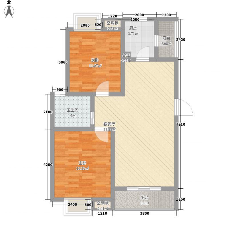 文教路电信宿舍125.00㎡户型2室