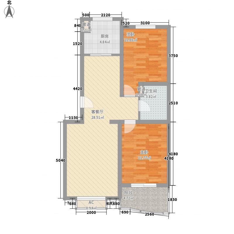汇隆花园汇隆花园户型图2室2厅1卫1厨户型10室