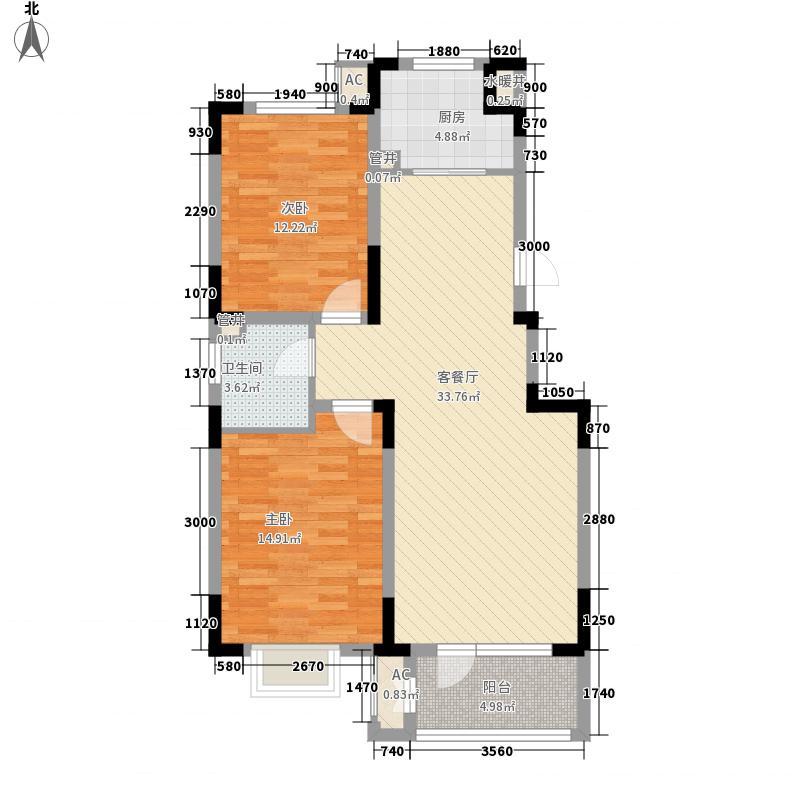 璟和嘉园97.80㎡�和嘉园2#3#4#A2面积9780m户型