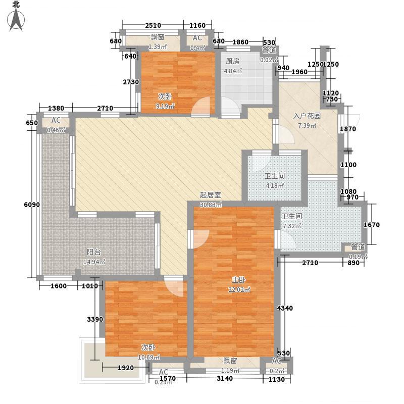 栖霞瑜憬湾136.00㎡栖霞瑜憬湾户型图瑜憬湾二期G户型3室3厅2卫户型3室3厅2卫