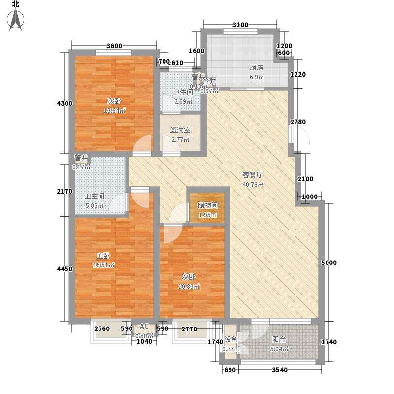 璟和嘉园144.75㎡�和嘉园1#多层B3面积14475m户型
