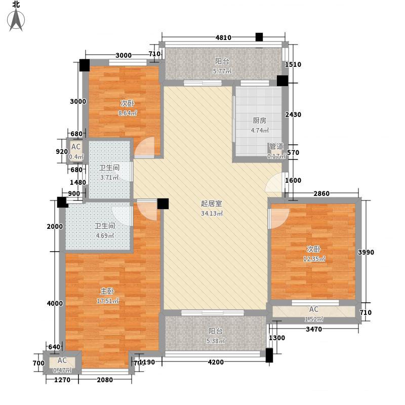 人信千年美丽别墅107.01㎡人信千年美丽别墅户型图A/L-2户型3室2厅2卫户型3室2厅2卫