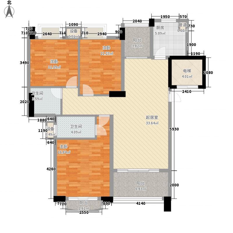 景湖名郡127.13㎡景湖名郡户型图经典名门3室2厅2卫户型3室2厅2卫