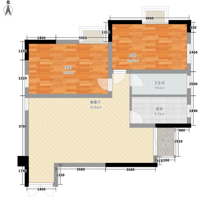 梦泽园美美公馆103.39㎡1、2栋32层A5户型