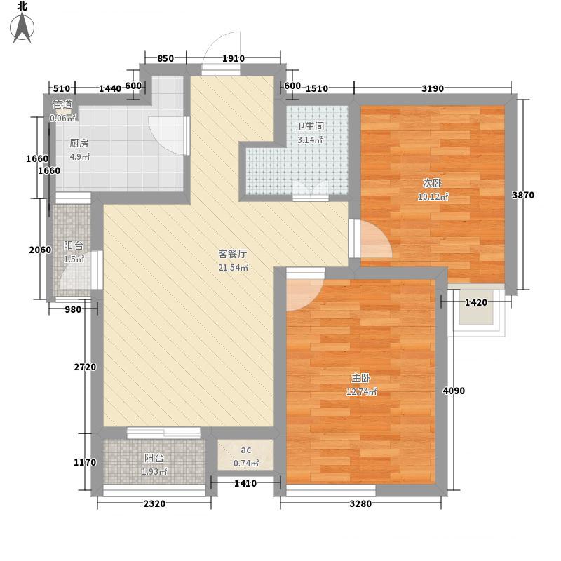 ㎡郡82.43㎡㎡郡户型图C户型-2-2-1--82.43㎡2室2厅1卫1厨户型2室2厅1卫1厨