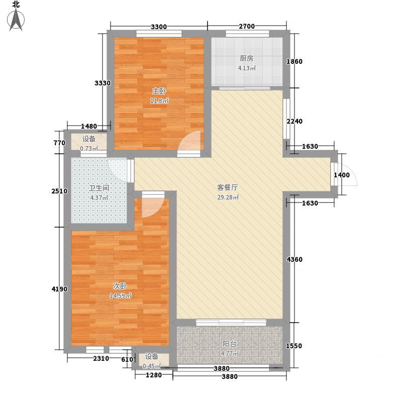 奇瑞新里城95.20㎡奇瑞新里城户型图3#楼G1户型2室2厅1卫1厨户型2室2厅1卫1厨