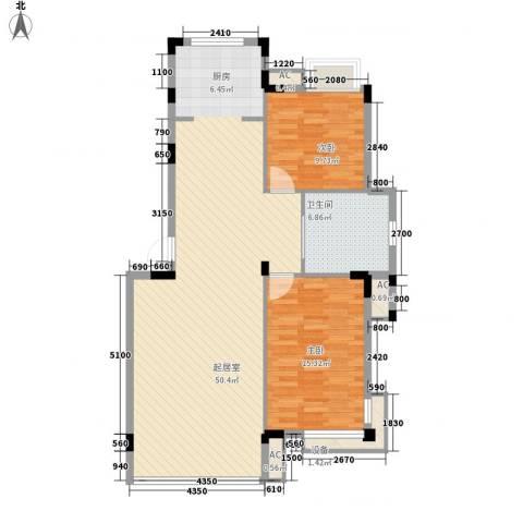 印象江南2室0厅1卫0厨103.00㎡户型图