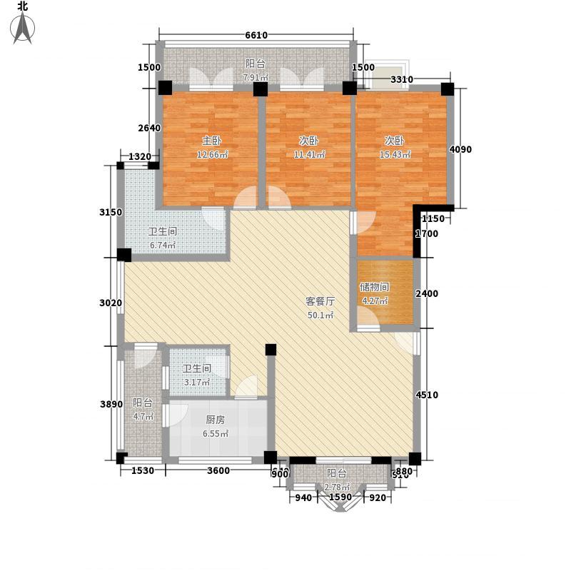 裕荣家园154.31㎡裕荣家园户型10室