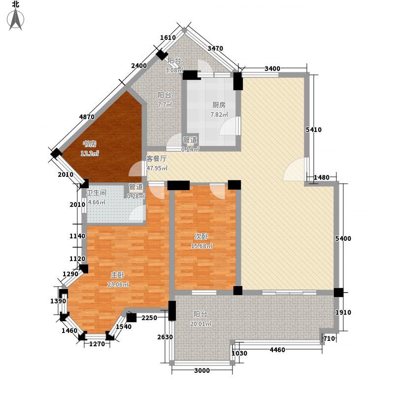 梦湖水岸别墅梦湖水岸别墅户型图E3户型10室