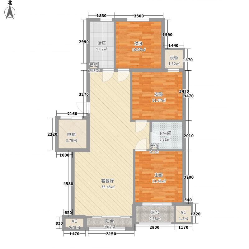 水悦阳光127.71㎡水悦阳光户型图L户型客满名居3室2厅1卫1厨户型3室2厅1卫1厨