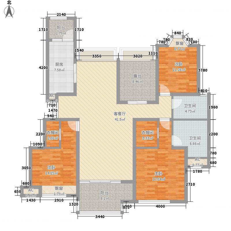 江与城130.00㎡熙溪地组团B栋6号户型