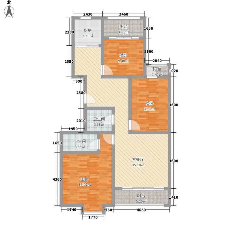 江南阳光145.00㎡江南阳光户型图B户型3室2厅2卫1厨户型3室2厅2卫1厨