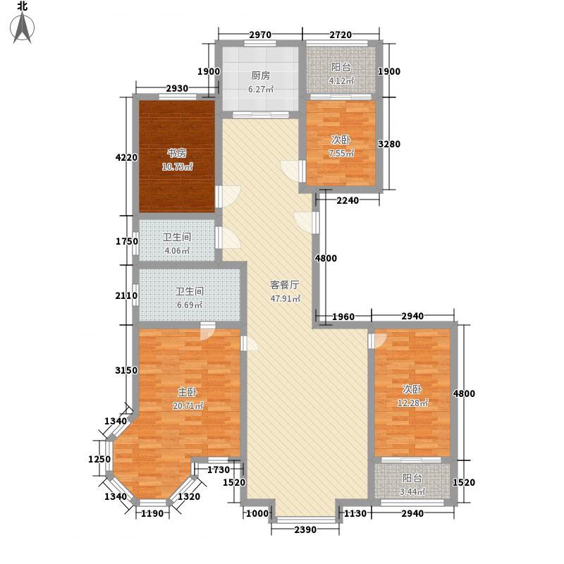 江南阳光175.00㎡江南阳光户型图A户型4室2厅2卫1厨户型4室2厅2卫1厨