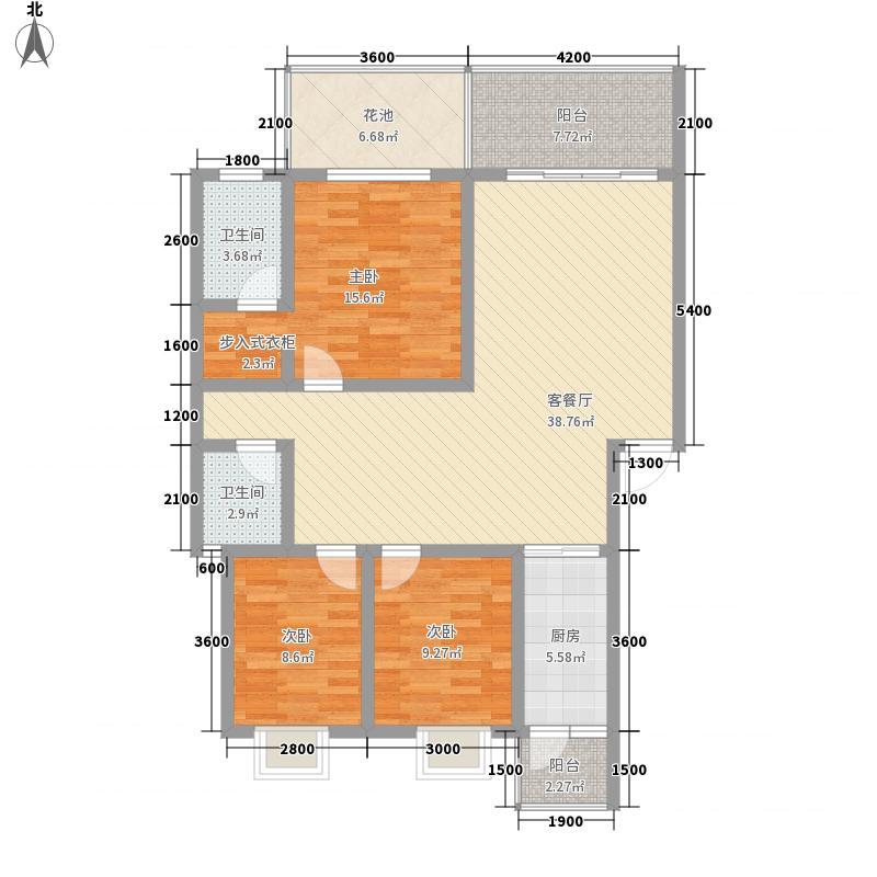 �亭合院114.00㎡g1型户型3室3厅2卫1厨