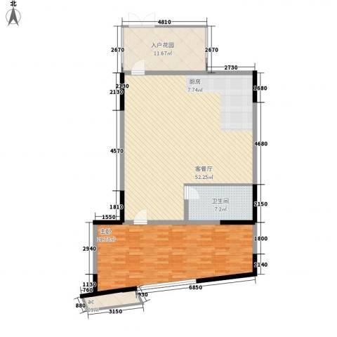 雪梨澳乡1室1厅1卫0厨101.95㎡户型图