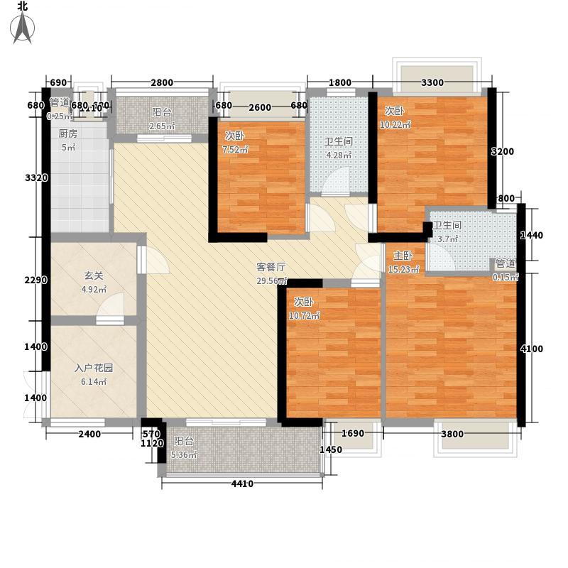 合汇・中央广场领汇Z-1栋05单元户型