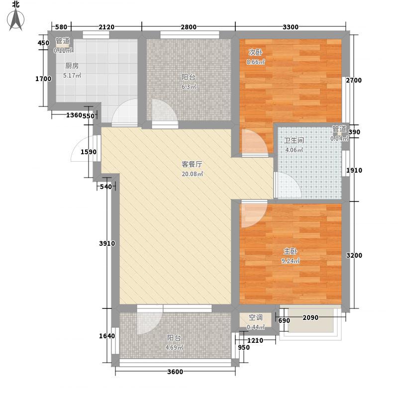 丽都新城三期丽・十二公馆81.42㎡丽都新城三期丽・十二公馆户型图D1户型2室2厅1卫1厨户型2室2厅1卫1厨