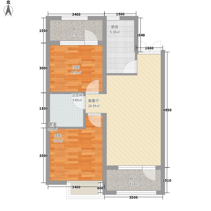 丽都新城三期丽・十二公馆85.18㎡丽都新城三期丽・十二公馆户型图C2户型2室2厅1卫1厨户型2室2厅1卫1厨