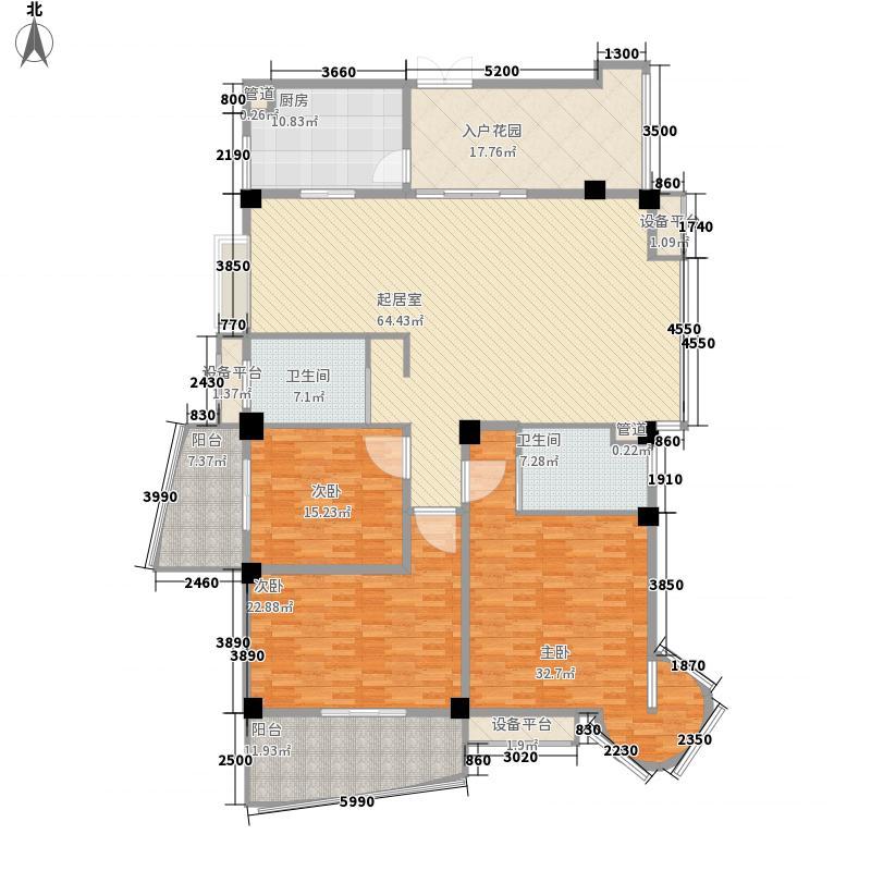 中茵加洲花城中茵加洲花城户型图3室2厅2卫户型10室