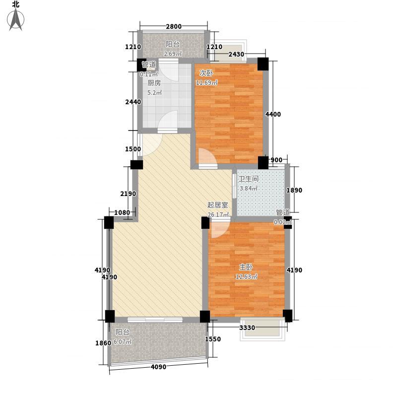 中茵加洲花城中茵加洲花城户型图2室2厅1卫户型10室