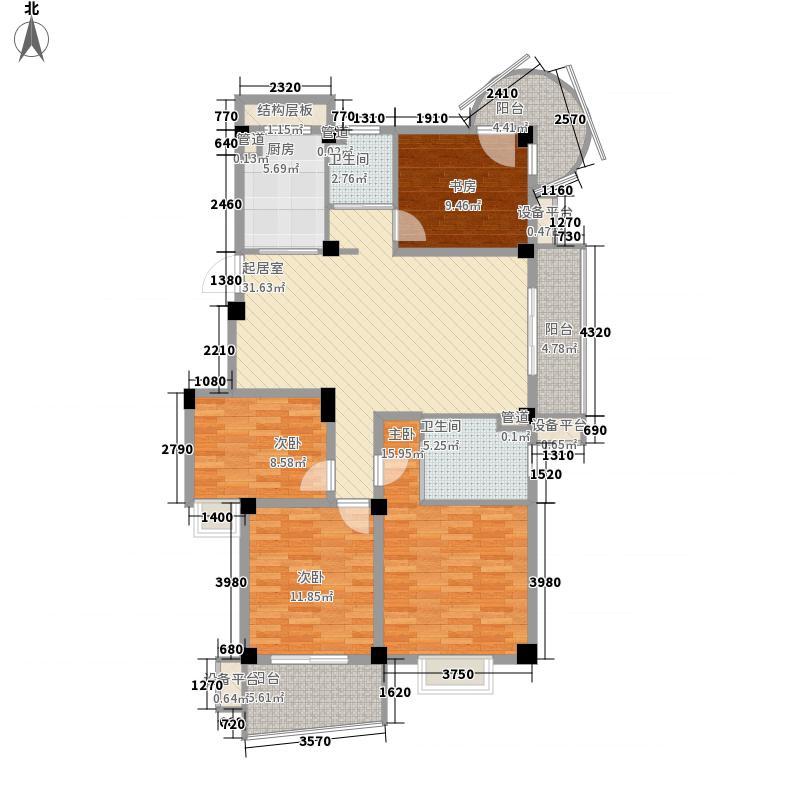 中茵加洲花城中茵加洲花城户型图4室2厅2卫户型10室