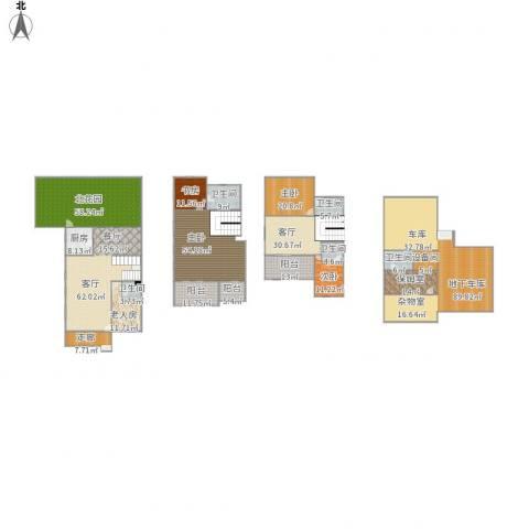 星岛仁恒5室2厅5卫1厨581.00㎡户型图