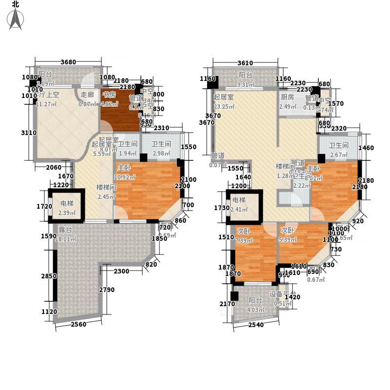 名城财富主场190.46㎡名城财富主场户型图尊贵五房三厅5室3厅4卫1厨户型5室3厅4卫1厨