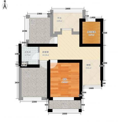 人和家园1室0厅1卫0厨55.00㎡户型图